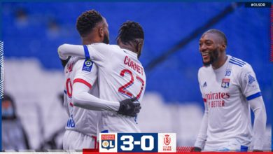 Photo de Victoire confortable de l'OL face à Reims (3-0)