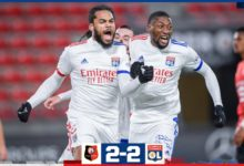 Photo de L'OL arrache un nul heureux à Rennes (2-2)