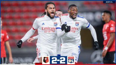 Photo de L'OL arrache un nul heureux à Rennes (2-2)